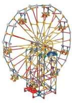 K'NEX Three-in-One Classic Amusement Park Building Set