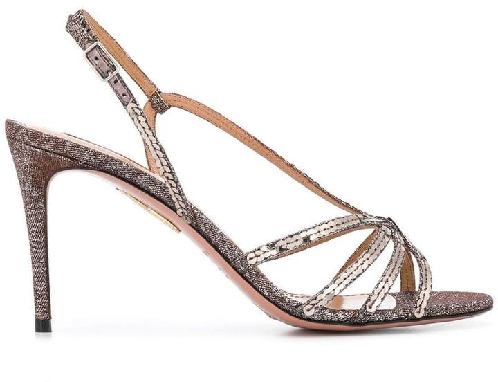 Aquazzura Paradis 85 sandals
