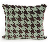 Mackenzie Childs MacKenzie-Childs Houndstooth Beaded Pillow