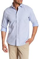 Toscano Long Sleeve Print Regular Fit Woven Shirt