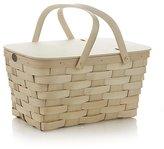 Crate & Barrel Peterboro Handmade Picnic Basket