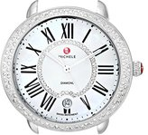 Michele Women's MW21B01A1963 Serein 16 Analog Display Swiss Quartz Silver Watch Head