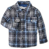 Sovereign Code Infant Boys) Plaid Quilted Shirt Jacket