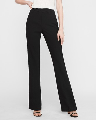 Express Mid Rise Slit Back Barely Boot Pant