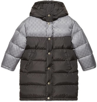 Gucci Children's padded GG nylon jacket