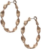 Asos Twist Hoop Earrings - Gold