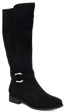 Journee Collection Cate Extra Wide Calf Riding Boot
