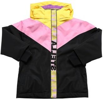 Stella McCartney Kids Color Block Nylon Ski Jacket