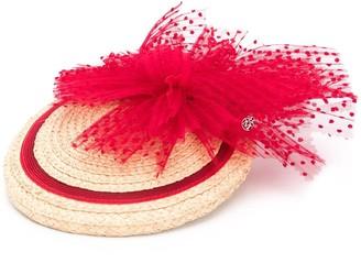 Maison Michel Tess rafia straw bibi hat