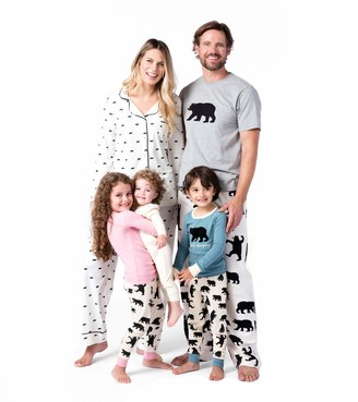 Hatley Women's Pj Set App - Blue Bearly Sleeping Pyjama Sets