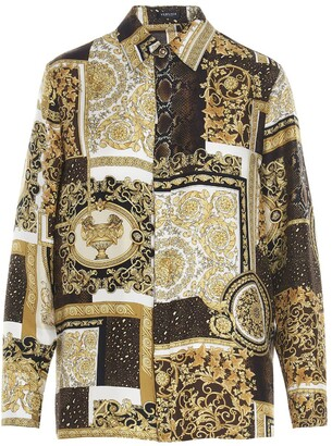 Versace Barocco Printed Shirt
