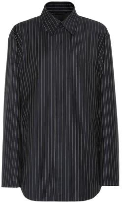 Balenciaga Striped wool and cashmere jacket