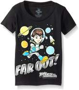 Disney Boys' Toddler Boys' Miles from Tomorrowland Short Sleeve Tee