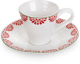 Portmeirion Sophie Conran Christmas Star Espresso Cup and Saucer