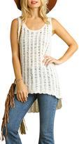 Umgee USA Sleeveless Sweater Top