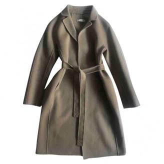 Max Mara 's Beige Wool Coat for Women
