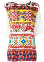 Dolce & Gabbana Mambo print top