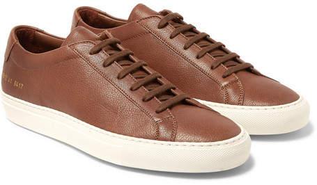 Common Projects Original Achilles Full-Grain Leather Sneakers - Men - Brown