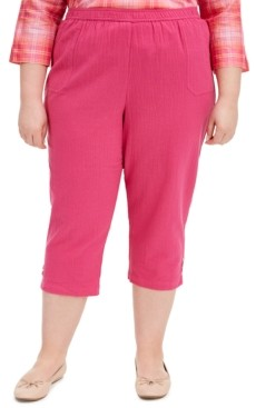 Alfred Dunner Plus Size Capris