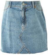 Topshop MATERNITY High Waist Denim Skirt