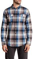 Burnside Same Ol& Long Sleeve Regular Fit Plaid Shirt