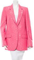 Stella McCartney Frazier Jacquard Blazer