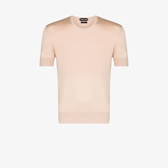 Tom Ford knitted silk T-shirt