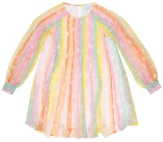 Stella McCartney Kids Striped silk dress