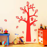 Parkins Interiors Tree With Bird House Wall Stickers