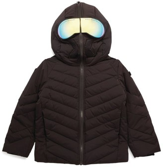 AI Riders on the Storm Young Lense-Embellished Quilted Jacket