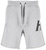 Helmut Lang monogram print bermuda shorts