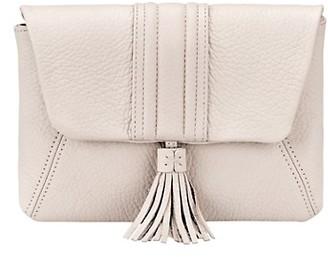 GiGi New York Ava Pebbled Leather Clutch