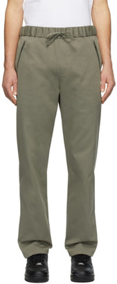 A.P.C. Khaki Carhartt WIP Edition Crossover Lounge Pants