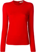 Tory Burch round neck slim-fit jumper - women - Cashmere - S