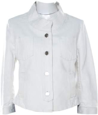 Christian Dior White Cotton Jackets