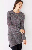 J. Jill Pure Jill Asymmetric Sweater Tunic