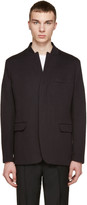 Helmut Lang Black Jersey Blazer