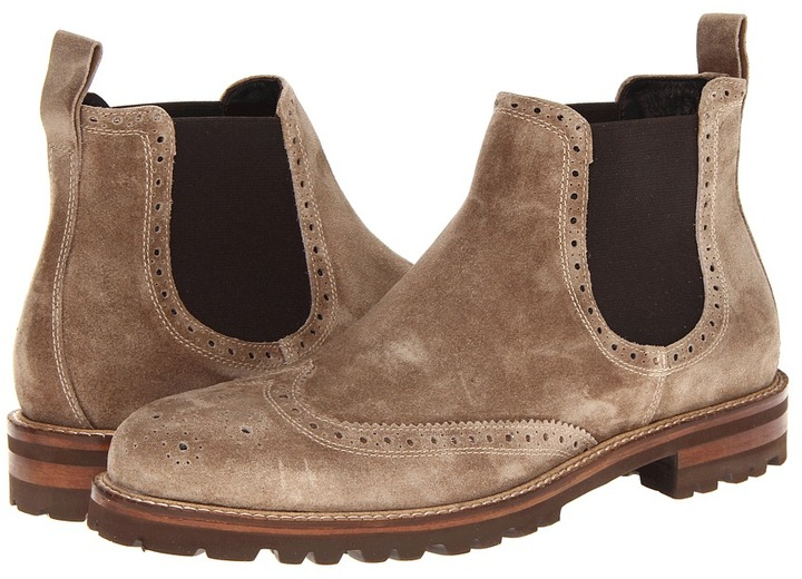 Bruno Magli Pacomio (Dark Taupe Suede) - Footwear