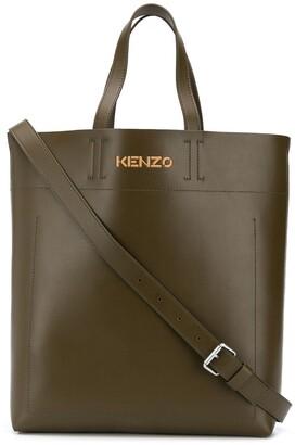 Kenzo Logo-Detail Tote Bag