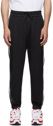 McQ Black Swallow Sport Stripe Lounge Pants