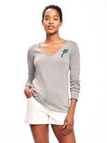 Old Navy Classic V-Neck Sweater for Women