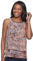 Juicy Couture Women's Layered Tank