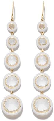 Ippolita 18kt gold Lollipop Carnevale 5-Stone drop earrings