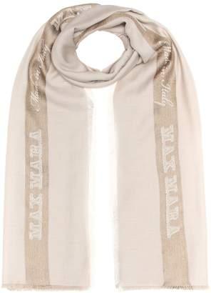 Max Mara Baiardo wool-blend scarf