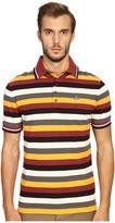 Vivienne Westwood Striped Pique Krall Polo Men's Clothing