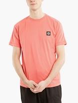 Stone Island Fuchsia Cotton Logo T-shirt