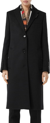 Burberry Bramley Wool & Cashmere Car Coat