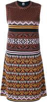 M Missoni patterned a-line dress