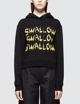 McQ by Alexander McQueen Cropped Hoody Sweat