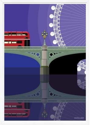 Westminster Sivellink Bridge & The Eye